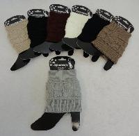 Knitted Boot Cuffs [Square Knit]